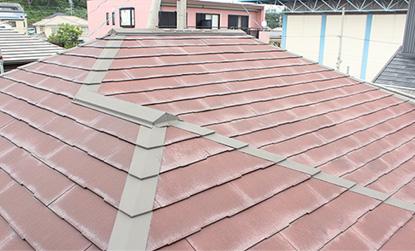 施工前 屋根部分