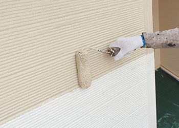 ボード用の中塗り塗料を使用