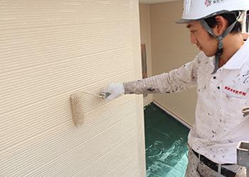 ボード用の上塗り塗料を使用